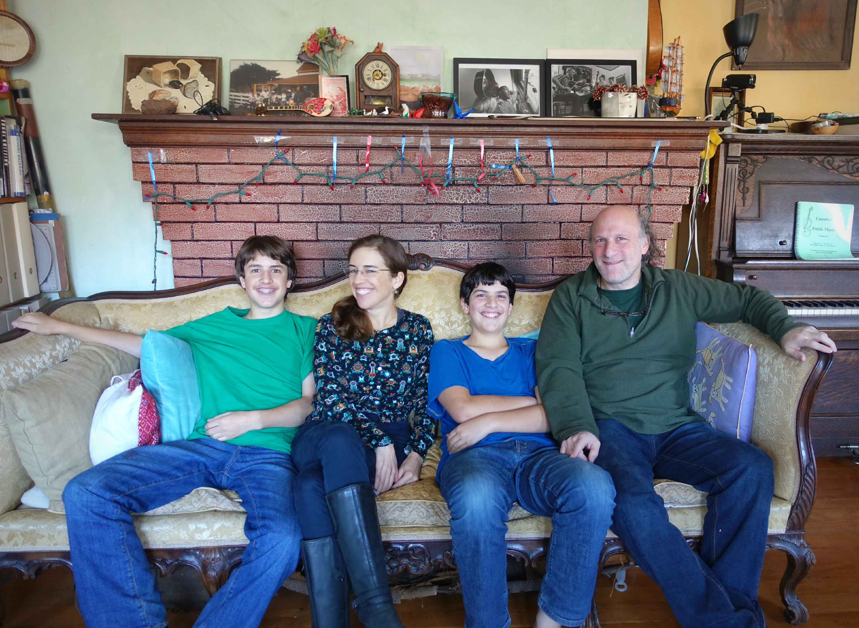 Family Seated Couch